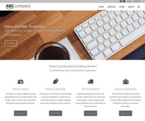 semi custom wordpress site
