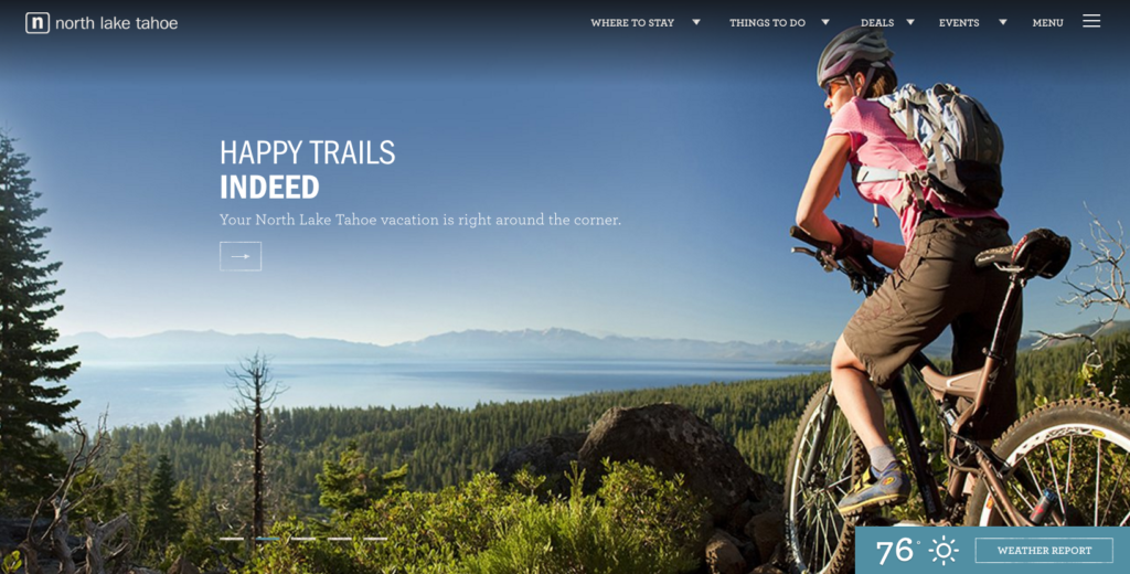 Custom Website Development Costs - Tahoe Desktop